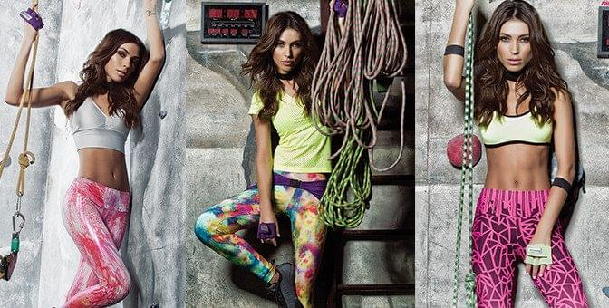 Sublimação na moda fitness