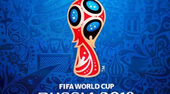 Materiais promocionais inspirados na Copa do Mundo 2018