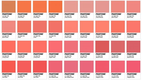 Living Coral Pantone Palette